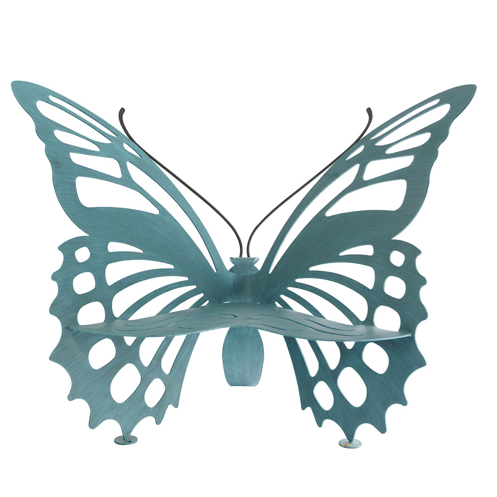Cricket Forge Butterfly Bench Avenue Arabella Designer Clothing Handbags Shoes Accessories
